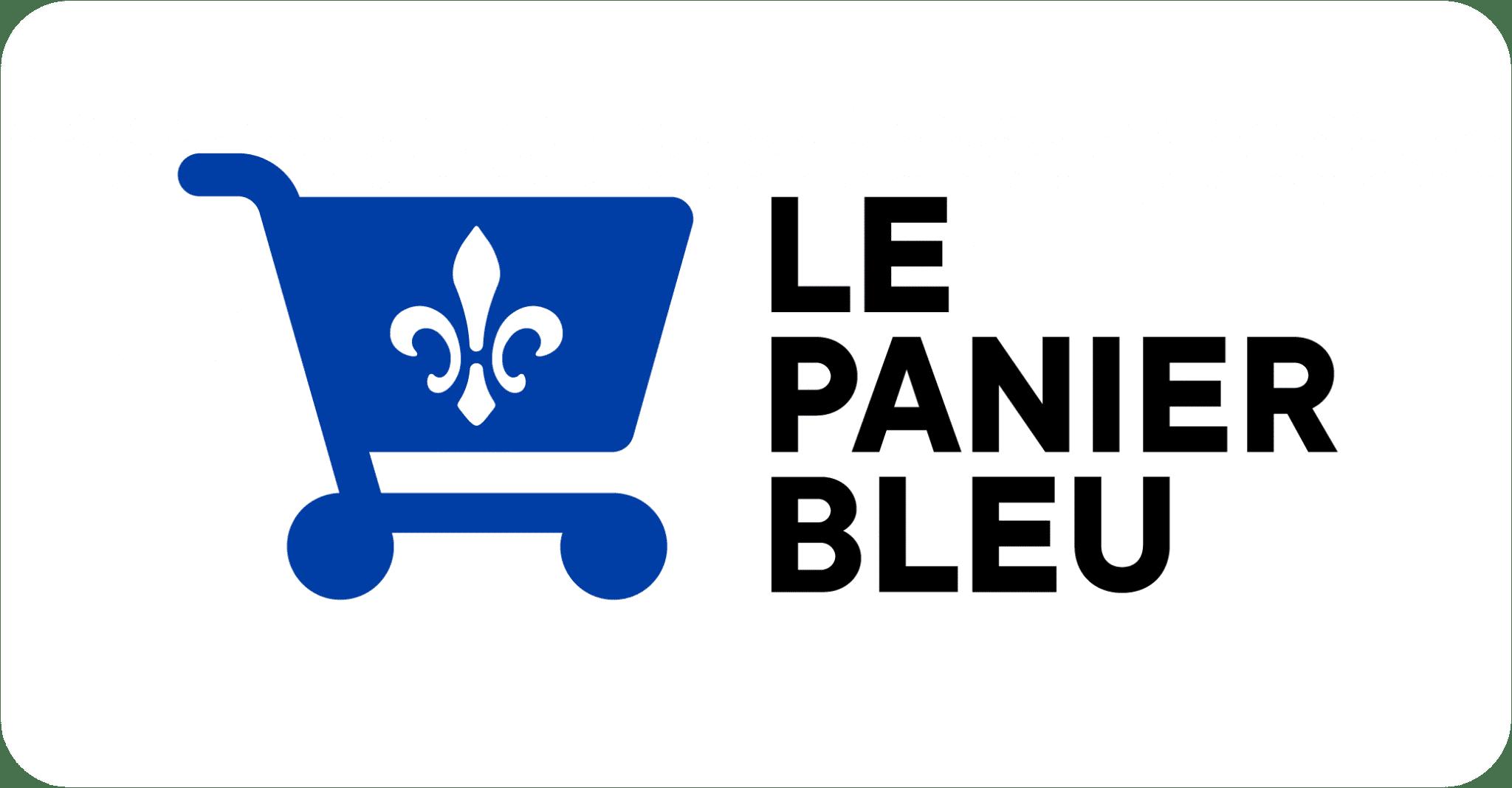 logo panier bleu